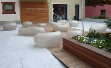 Public space in Livigno